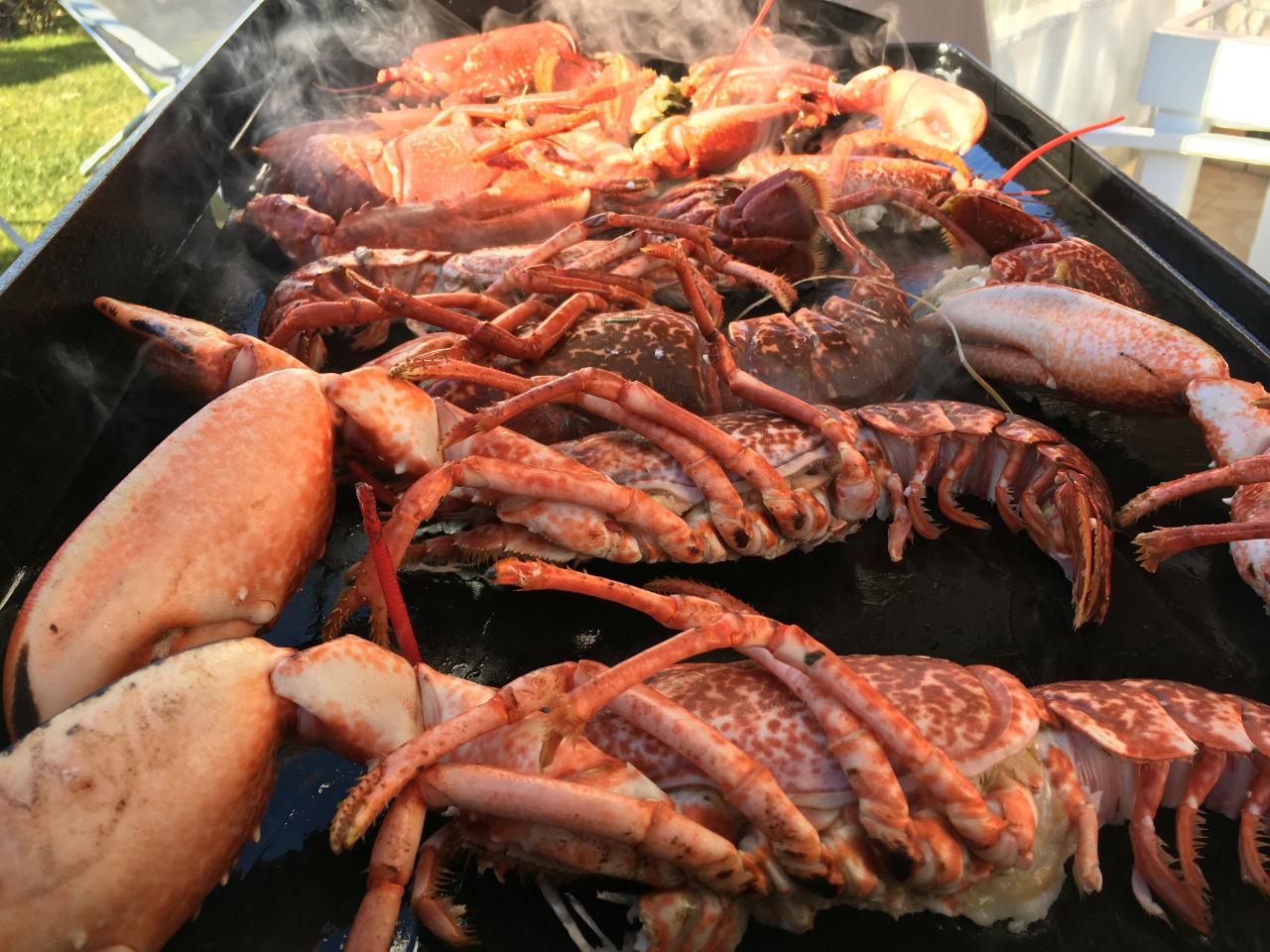 repas homard